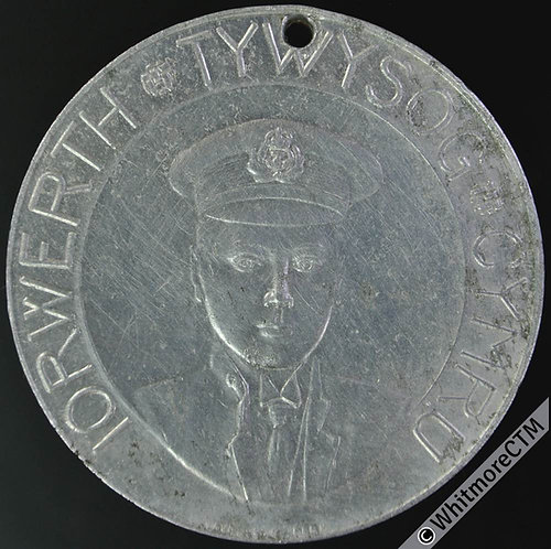 1911 Investiture Prince of Wales Medal 39mm WE6060 CM30a Welsh legend. Vaughton