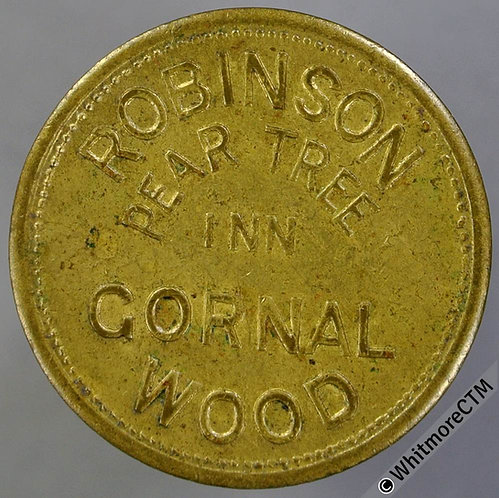 Gornal Wood Pub / Inn Token Pear Tree Inn W5781 6D Robinson