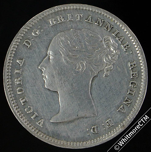 1839 Victoria Maundy Silver Four-pence