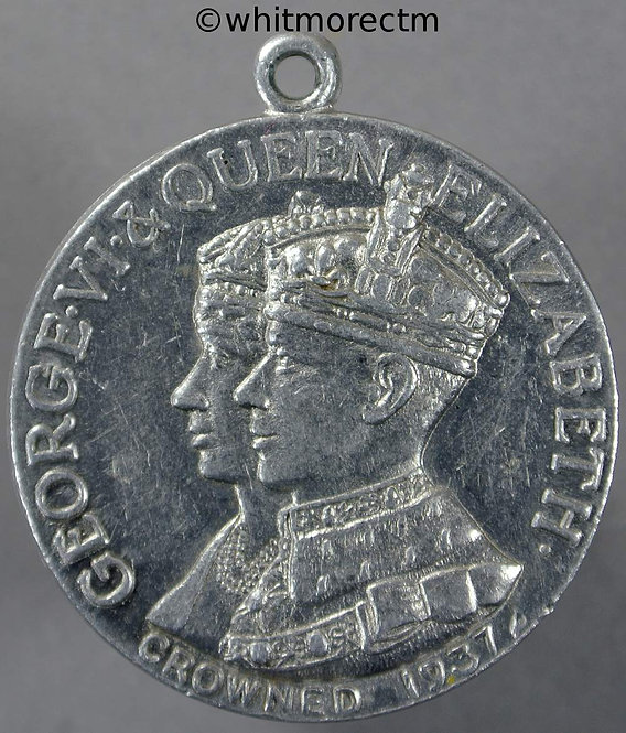 1937 Coronation Medal obv 33mm WE7015 George VI Unrecorded with susp loop