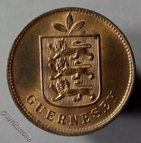 Guernsey 1 Double E61 1903H 80% Luster
