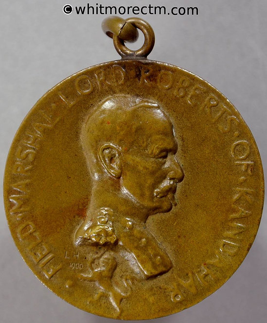 1900's Society of Miniature Rifle Clubs Medal 29mm Queen Alexandra's Cup Bronze