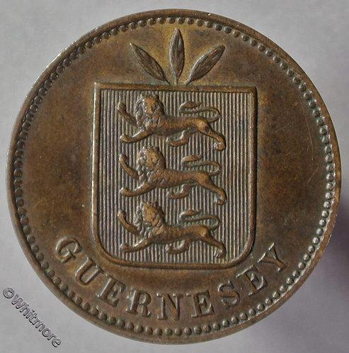 Guernsey 4 Doubles E51 1893H