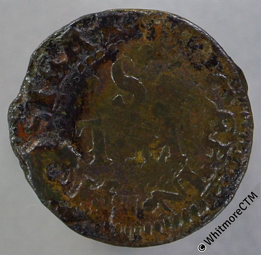 17th Century Token Leicester 53 Thomas Stvrges. Norweb 2846 - From worn dies