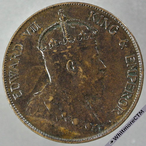 1904H Hong Kong 1 Cent Y9 - obv