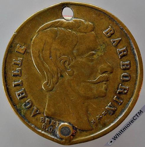 1860? France Achille Barborin Medal/Token 24mm Inauguration Mme Achille Paris