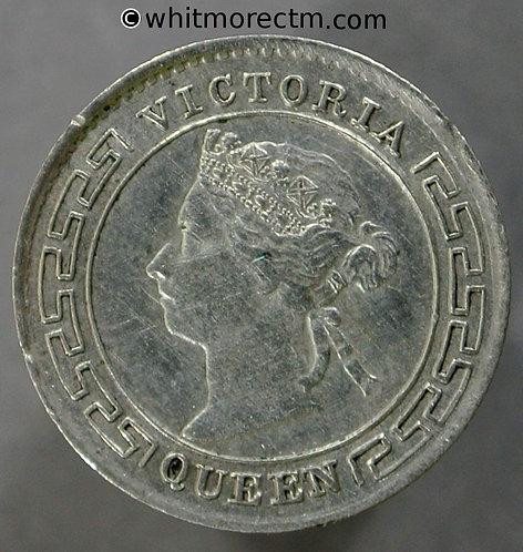 1899 Ceylon 10 Cent - Silver coin