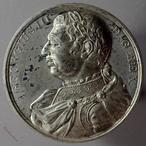 Kings of England Series Medal 41mm George III B1437-35 Thomason after Dassier