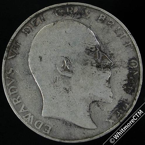 1907 Great Britain Half-Crown Edward VII