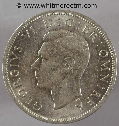 1949 British Two Shilling Florin George VI