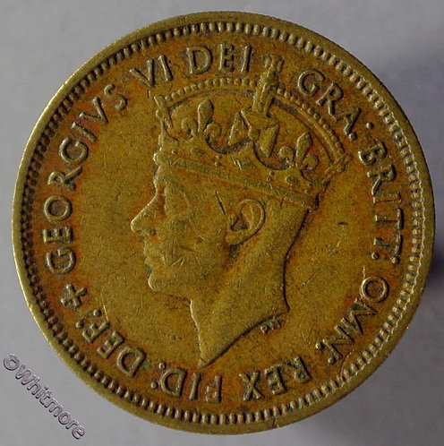 1949 British West Africa Shilling coin Y27