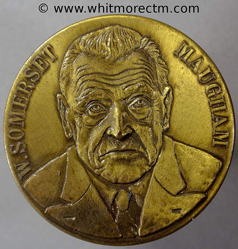 W. Somerset Maugham Medal 40mm - Bronze