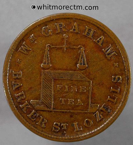 Unofficial Farthing Birmingham 430 W.Graham Barker St. Lozells -  Rare