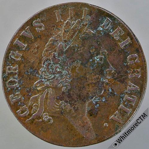 Imitation Spade Guinea Grantham N6580 C.Basker 75 & 76 Westgate