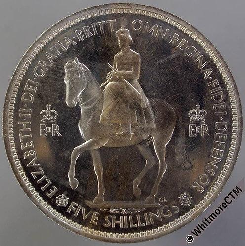 1953 Elizabeth II Crown. Proof about FDC