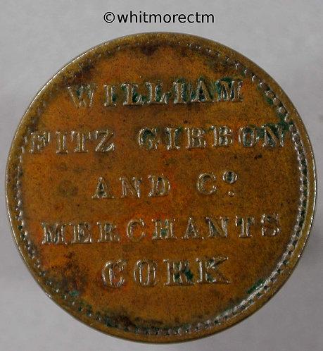 Unofficial Farthing Token Cork 5740 Wm.Fitz Gibbon & Co