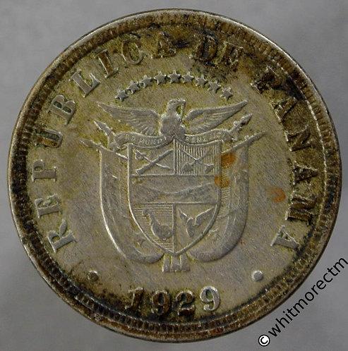 1929 Panama 5 Centesimos obv