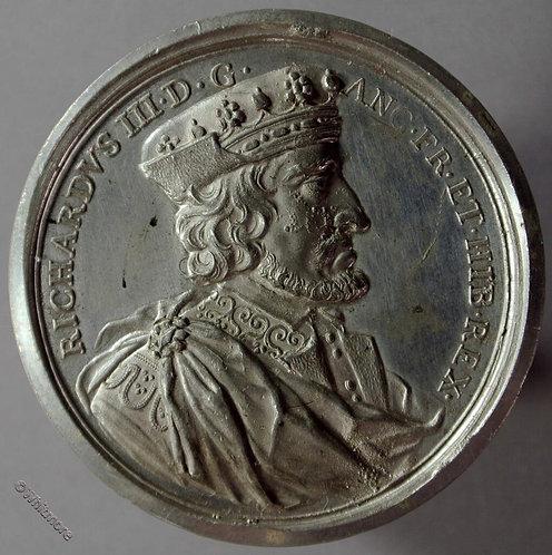 Kings of England Series Medal 41mm Richard III B1437-18 Thomason after Dassier