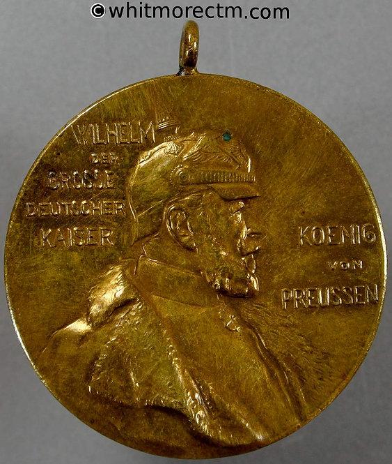 1897 Germany Centenary of Wilhelm I Medal 40mm Bronze