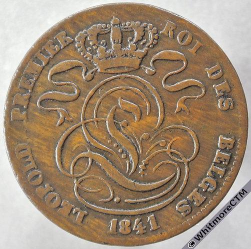 1841 Belgium 5 Centime obv C3