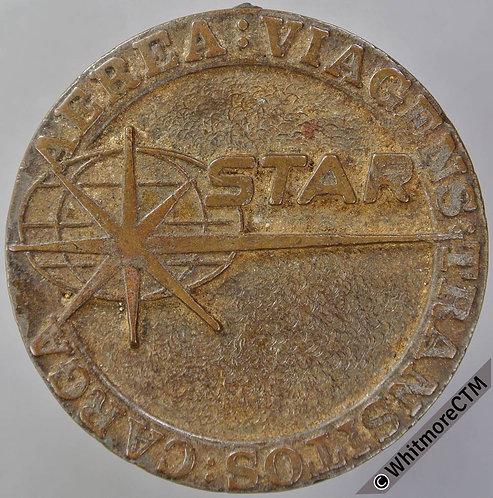Mozambique 1975 Independence Medal 40mm Cast bronze