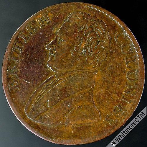 Jamaica PR130 1825 British Colonies Token. De Salaberry?
