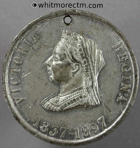 1897 Victoria Diamond Jubilee Medal 38mm B3590 Under her wise rule