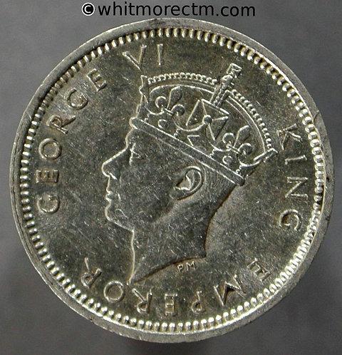1942 Southern Rhodesia 3 pence coin