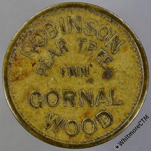 Gornal Wood Pub / Inn Token Pear Tree Inn W5779 2D Robinson