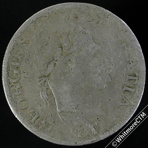 1817 Counterfeit Half-Crown George III