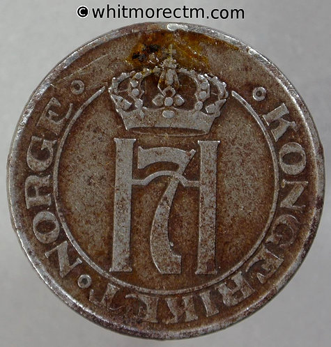 1917 Norway 5 Ǿre - Y37a Iron