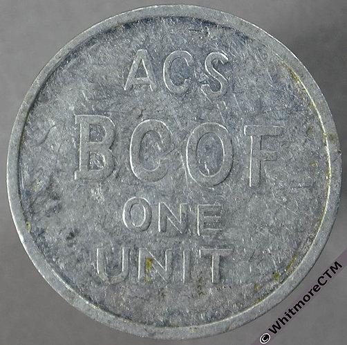 Australia Armed Forces Token ACSBCO Japan. Yarwood AUT031. Aluminium same both sides