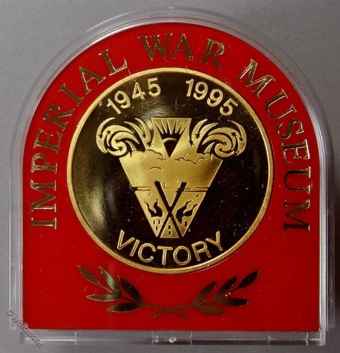 1995 50th Anniversary of End of Second World War Medal 39mm Imperial War Museum
