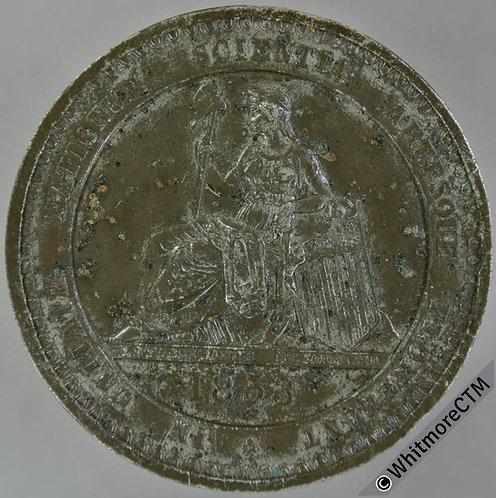 U.S.A 1853 New York Crystal Palace Exhibition Medal 45mm WM Stubenrauch