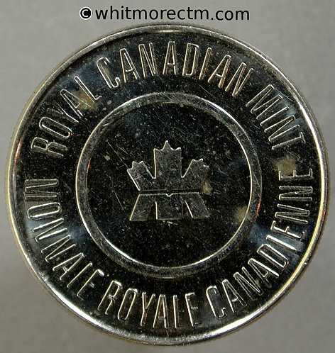 2005 Canada, Royal Canadian Mint Medal 27mm Maple Leaves Cupro Nickel