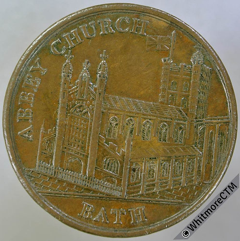 18th Century Penny Bath 4 Abbey Church / Guild Hall - Edge knock