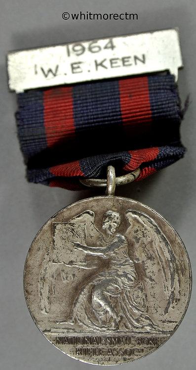1964 Small Bore Rifle Association Sir Thomas Dewar Trophy Medal 30mm