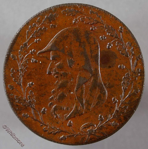 18th Century Halfpenny Anglesey 450a 1793 Druids head - PMCo cypher