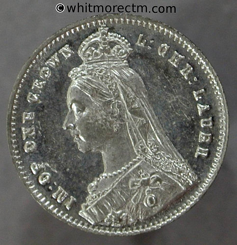 Toy Coin. Lauer's Diamond Jubilee One crown 1897 606 13mm - Tinned iron