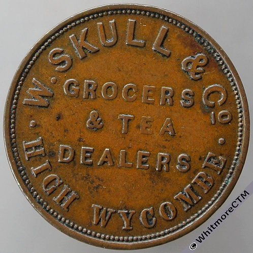 Unofficial Farthing High Wycombe 1801 (1800) W. Skull & Co. Grocer & Tea Dealer
