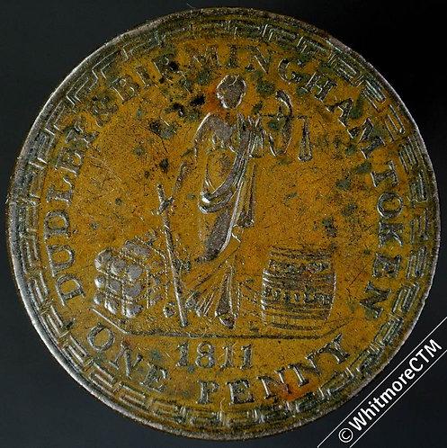 19th Century Penny Dudley 728 1811 Richard Wallis - T & I Badger / bale & cask.