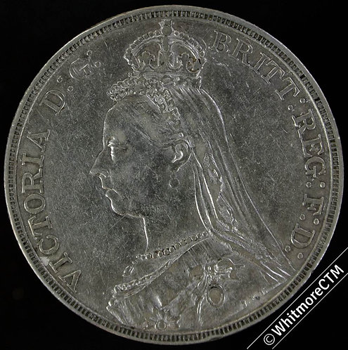 1889 Victoria Jubilee Head Crown