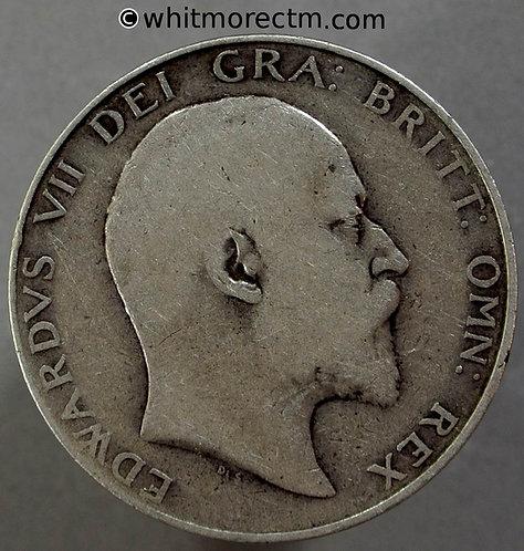 1906 Great Britain Halfcrown Edward VII KM# 802