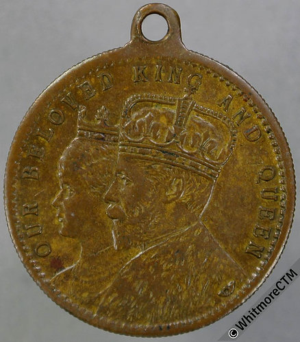 1911 George V Coronation Medal 22mm WE5269A Bronze with suspender