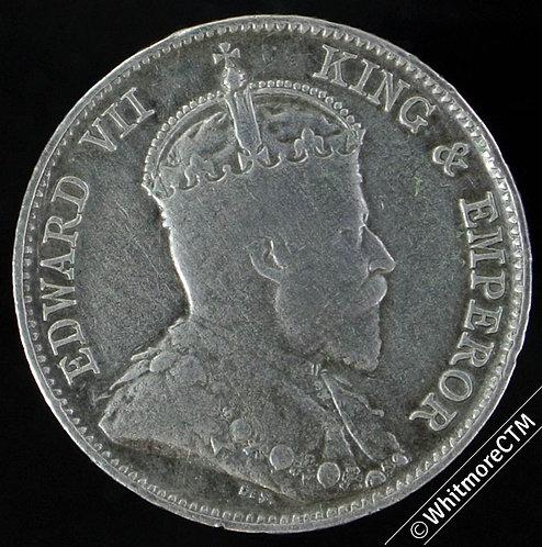 1902 Straits Settlements 10 Cent Y21