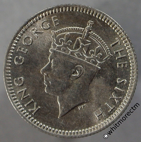 1948 Malaya 5 Cents obv