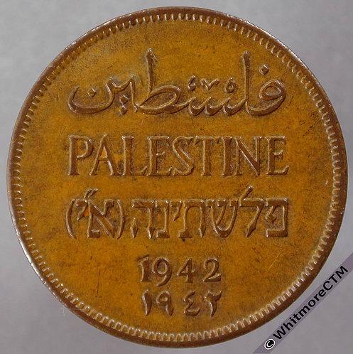 1942 Palestine 2 Mils