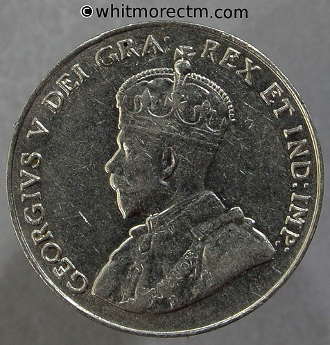 1931 Canada coin Five Cents - Nickel