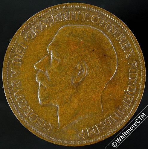1922 British Bronze Penny George V