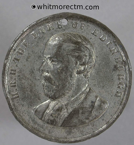 Leeds 1875 Yorkshire Exhibition of Arts & Manufacturers Medal 30mm WE1266